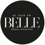 As seen in Belle Bridal Magazine