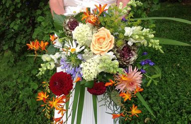 beamsley blooms wedding flowers skipton north yorkshire orange